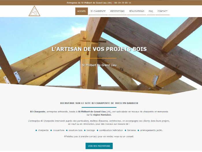 Site BJ Charpente